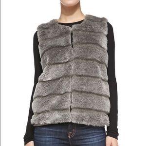 JOIE Andrina faux-fur vest